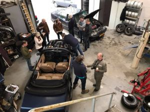 Saab Classic technische dag